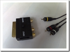 N95 TV out phono-to-scart connector gersbo.dk